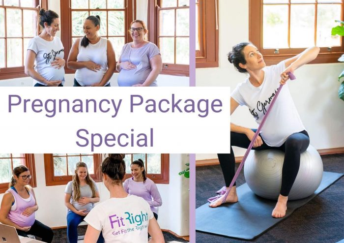 fitright preged small workshop pregnancy package special